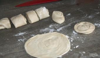Самса узбекская слоеная с мясом - фото шаг 4