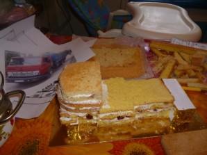"""Торт """"Камаз"""" - фото шаг 4"""