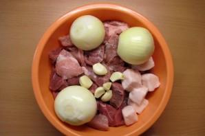 Фарш из свинины - фото шаг 2