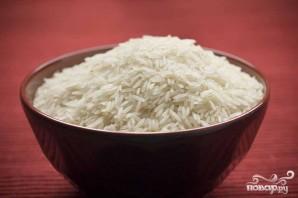 Креветки с сосисками и рисом - фото шаг 2