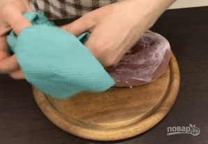 Домашний балык (сыровяленый) - фото шаг 2