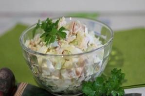 Салат из копченой грудки - фото шаг 7