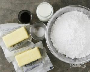 Сливочный крем для украшения торта - фото шаг 1