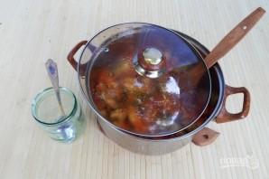 Салат с баклажанами (заготовки на зиму) - фото шаг 7