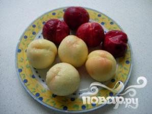 Мятно-персиковый салат - фото шаг 2