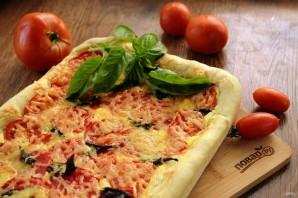 Пирог с помидорами и базиликом - фото шаг 12
