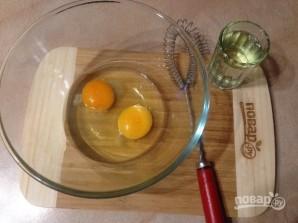 Маффины из цельнозерновой муки с яблоком и морковью - фото шаг 1
