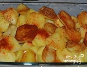 Минтай с картошкой - фото шаг 4