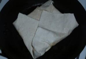 Омлет в лаваше - фото шаг 4