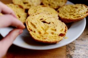 Французские тосты из круассанов - фото шаг 3