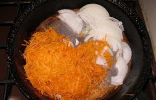 Запеканка из кабачков с сыром - фото шаг 4