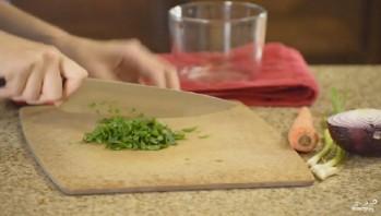 Диетический салат с чечевицей - фото шаг 3