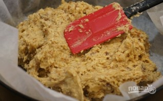 Пирог с сухофруктами без сахара, яиц и масла - фото шаг 4