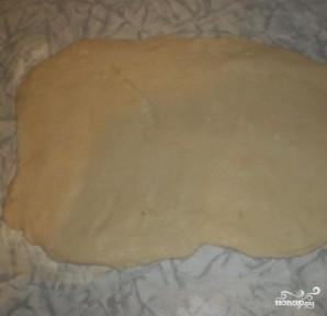 Постное слоеное тесто - фото шаг 4