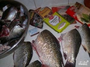 Рыбные консервы в масле - фото шаг 1