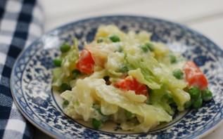 Овощи под соусом бешамель - фото шаг 4