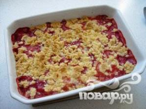 Десерт из клубники и ревеня - фото шаг 5
