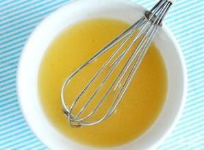 Салат из шпината и персиков - фото шаг 12
