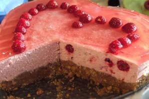 Творожно-желейный торт без выпечки - фото шаг 4