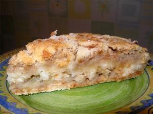 Шарлотка с тертыми яблоками - фото шаг 9