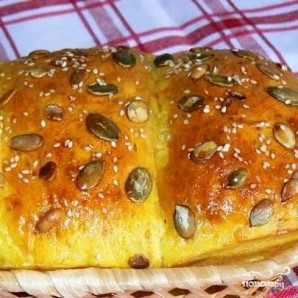 Хлеб с тыквенными семечками - фото шаг 10