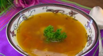 Суп с кусочками говядины - фото шаг 6