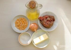 Гороховый суп-пюре туркменский - фото шаг 1