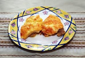 Курица с ананасами и сыром - фото шаг 6