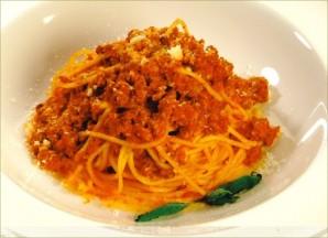 Спагетти с мясным фаршем - фото шаг 3