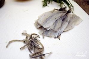 Маринованная корюшка - фото шаг 1
