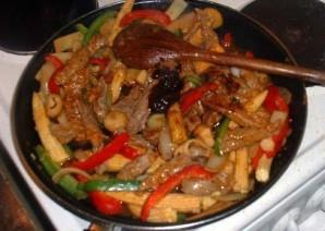Тайская говядина чили - фото шаг 7