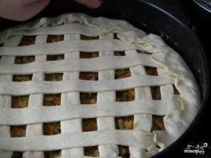 Постный дрожжевой пирог - фото шаг 11