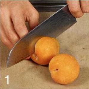 Персиковый слаш - фото шаг 1