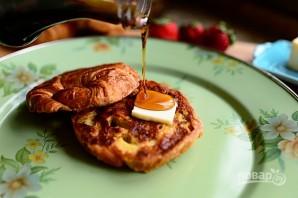 Французские тосты из круассанов - фото шаг 5