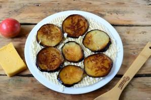 Торт из баклажанов с помидорами и сыром - фото шаг 6