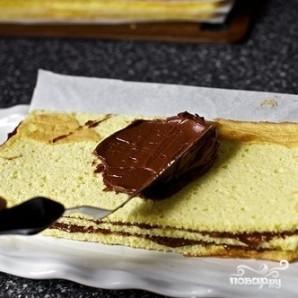 Венгерский торт Добош - фото шаг 6