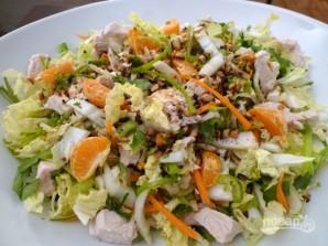 Салат с пекинской капустой и курицей - фото шаг 5
