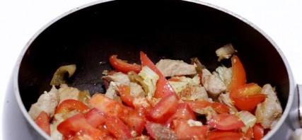 Жареная свинина с овощами - фото шаг 5