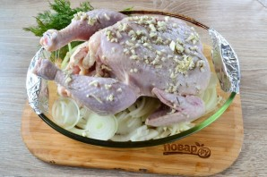 Жареный цыпленок Джулии Чайлд - фото шаг 4