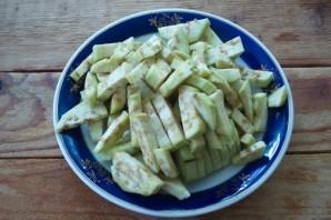 Тушеные баклажаны под соусом - фото шаг 1
