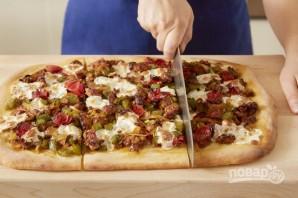 Пицца со свининой - фото шаг 5