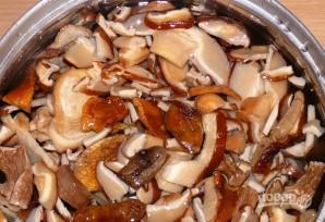 Грибная икра из сушеных грибов - фото шаг 2