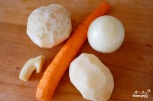 Суп из овощей для похудения - фото шаг 3