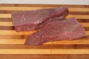 Сыровяленая говядина - фото шаг 1