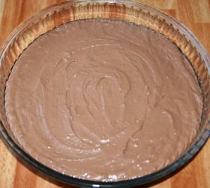 Шоколадный торт с творожно-кокосовыми шариками - фото шаг 6