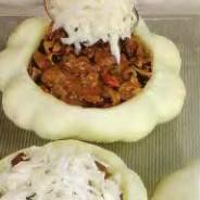 Патиссоны фаршированные печенью индейки - фото шаг 4