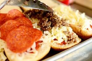 """Бутерброды """"Пицца"""" - фото шаг 6"""