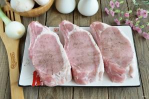 Мясо под грибочками - фото шаг 2