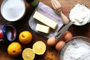 Лимонно-творожный кекс - фото шаг 1