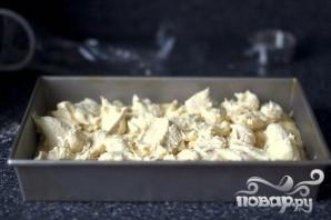 Дрожжевой пирог со сливочной начинкой - фото шаг 4